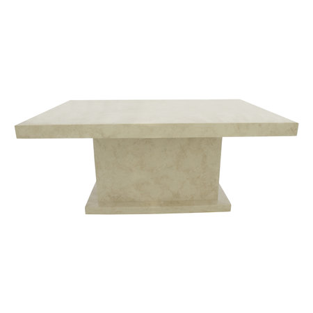 Indomarmer Coffee table Rectangle 110x70x45 cm Cream Marble