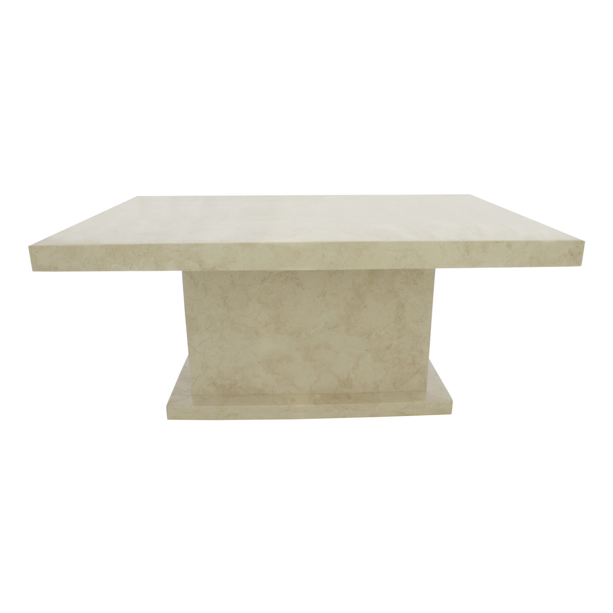 Indomarmer Marmeren salontafel 110x70x45 cm rechthoek crème