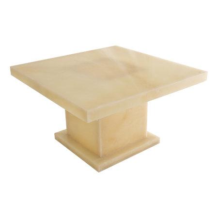 Indomarmer Onyx Salontafel Vierkant 80x80x45 cm