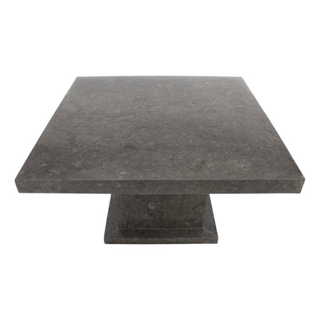 Indomarmer Coffee table Square 80x80x45 cm Grey Marble
