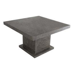 Indomarmer Salontafel Vierkant 80x80x45 cm Grijs Marmer