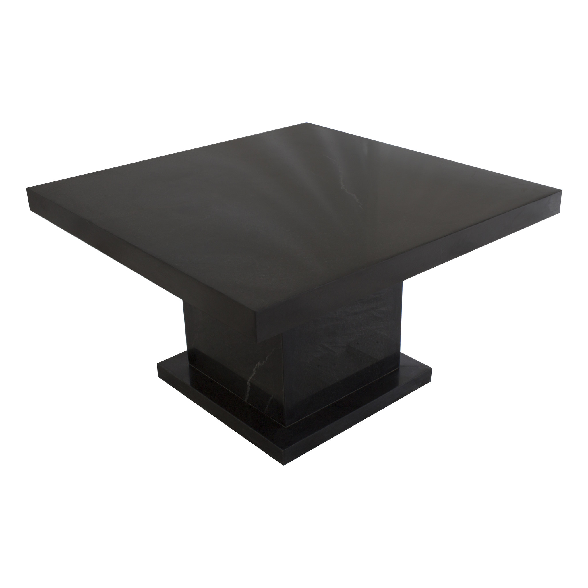 Indomarmer Coffee table Square 80x80x45 cm Black Marble