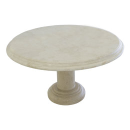 Indomarmer Coffee table Round Ø80xH45 cm Cream Marble