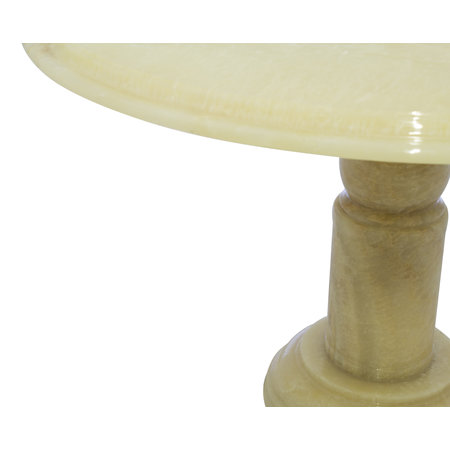 Indomarmer Onyx Eettafel Rond Ø120xH79 cm