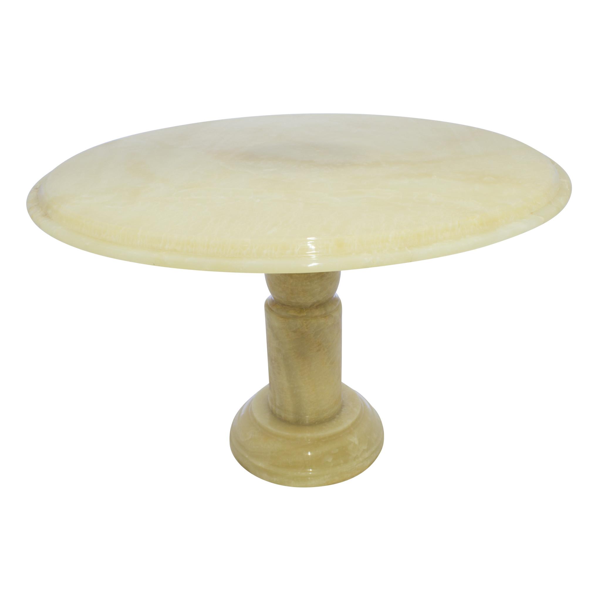 Indomarmer Onyx Dining table Round Ø120xH79 cm