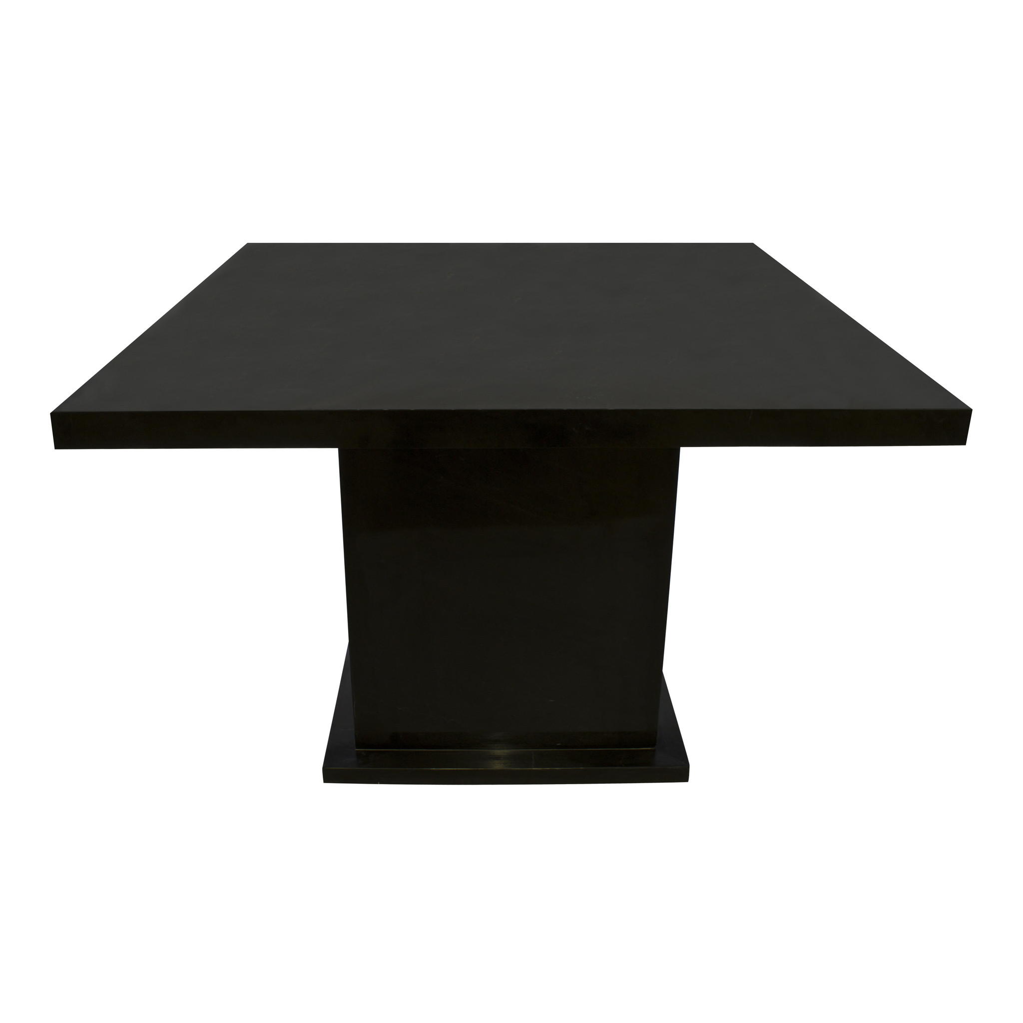 Indomarmer Dining table Square 120x120x79 cm Black Marble