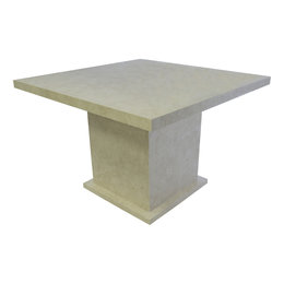 Indomarmer Dining table Square 120x120x79 cm Cream Marble