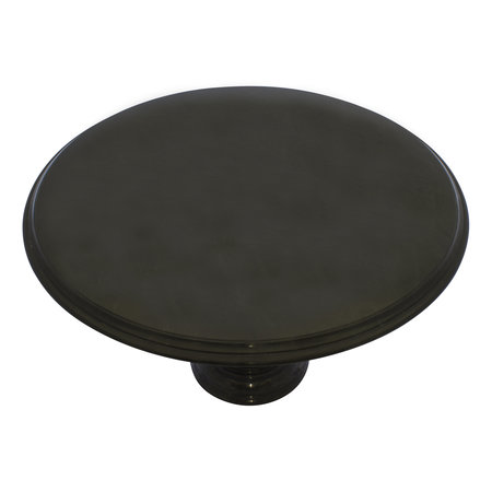 Indomarmer Dining table Round Ø120xH79 cm Black Marble