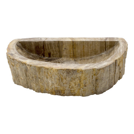 Indomarmer Toiletfontein van Versteend Hout