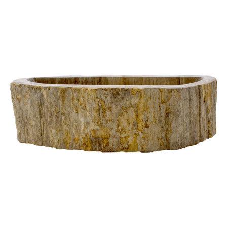 Indomarmer Toilet Fountain of Petrified Wood