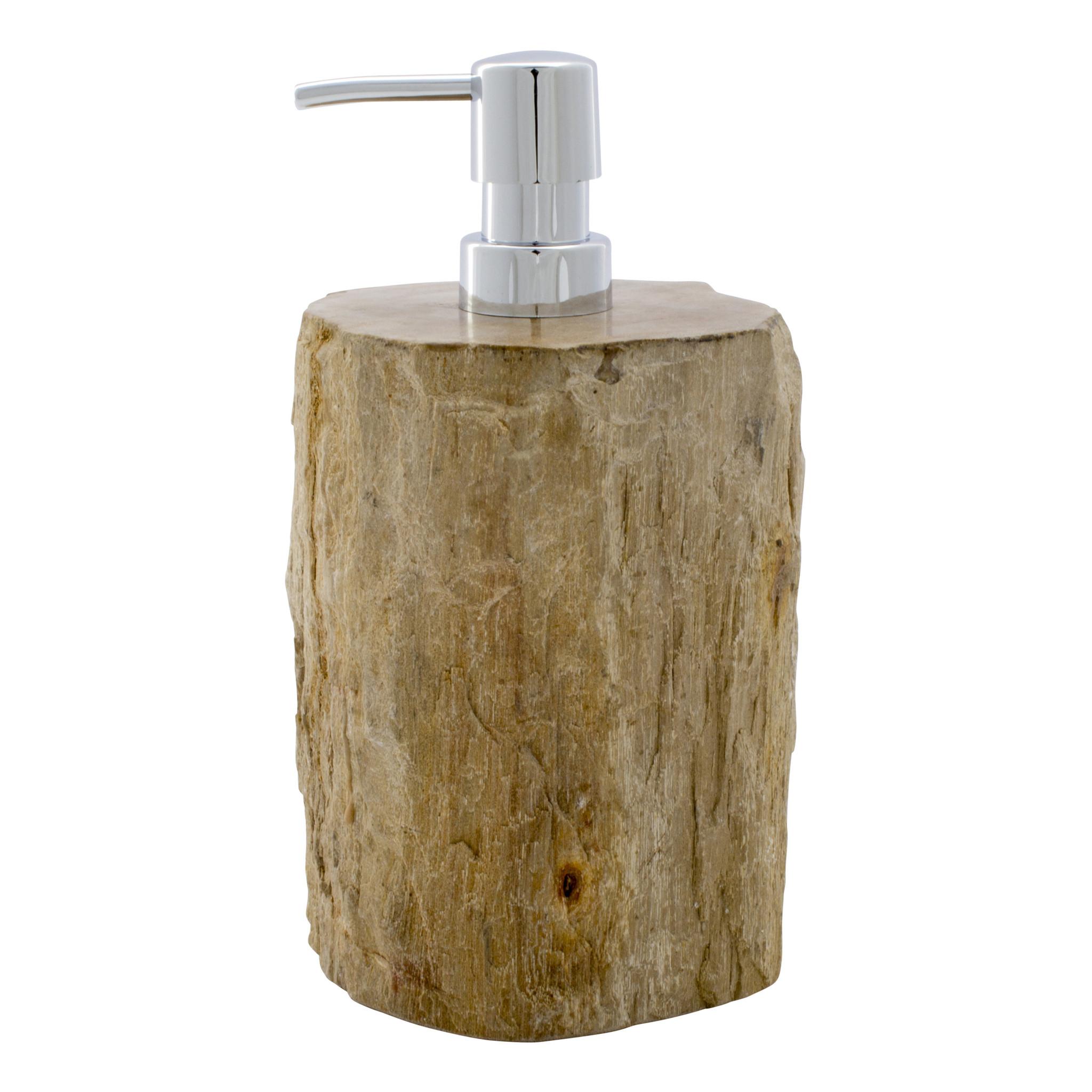 Indomarmer 4-Teilige Versteinertes Holz Badeset Liana