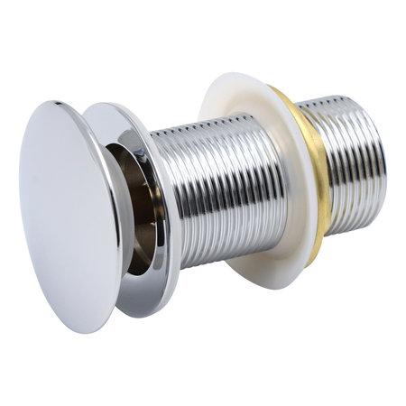 Indomarmer Pop-up Afvoerplug met Lange Schacht 9 cm Chroom