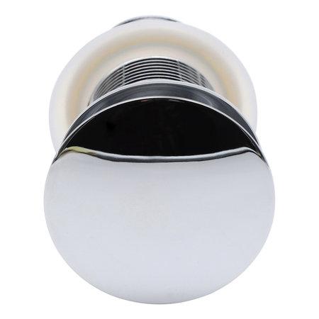 Indomarmer Pop-up Drain Plug with Long Shaft 9 cm Chrome