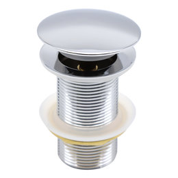 Indomarmer Pop-up Drain Plug 9 cm Chrome