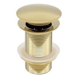 Indomarmer Pop-up Drain Plug  9 cm Titanium Gold