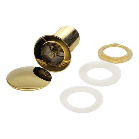 Indomarmer Pop-up Drain Plug with Long Shaft 9 cm Titanium Gold