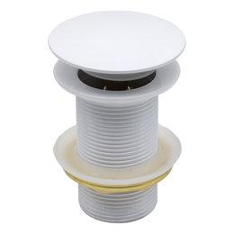Indomarmer Pop-up Afvoerplug 9 cm Wit