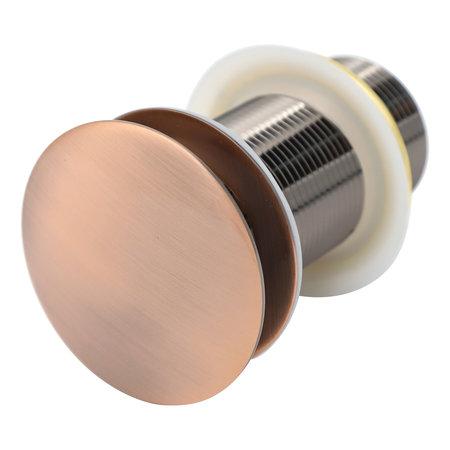 Indomarmer Pop-up Afvoerplug met Lange Schacht 9 cm Brons
