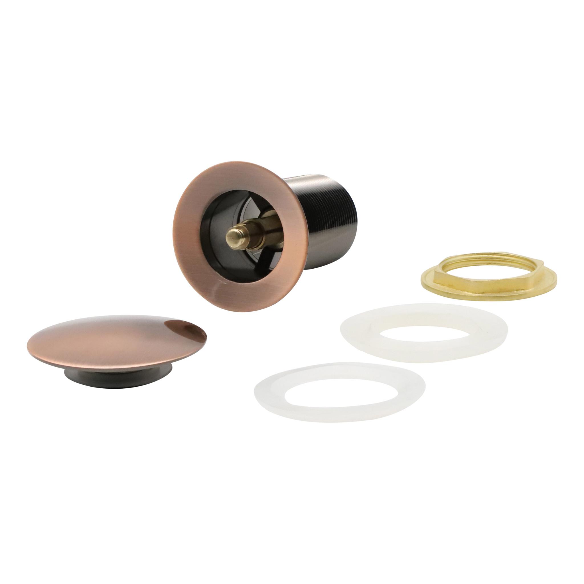 Indomarmer Pop-up Drain Plug with Long Shaft 9 cm Bronze