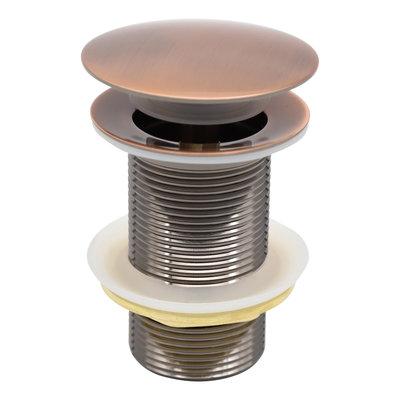 Indomarmer Pop-up Afvoerplug 9 cm Brons