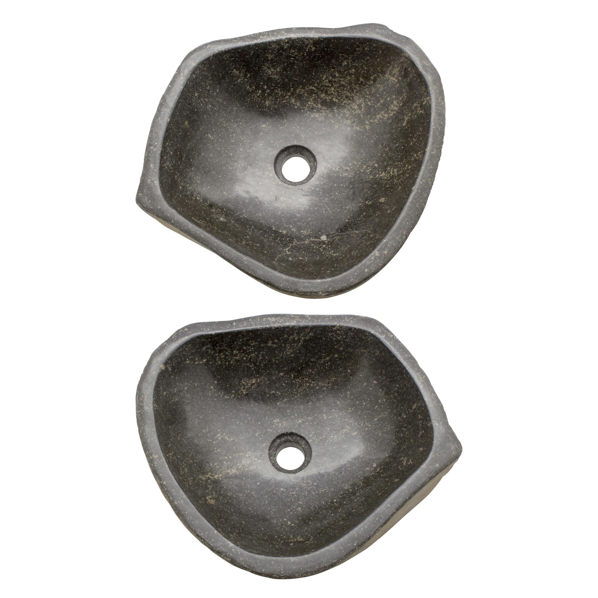 Indomarmer River Stone Washbasin Set