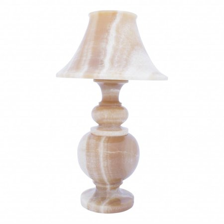 Indomarmer Table lamp Round Onyx