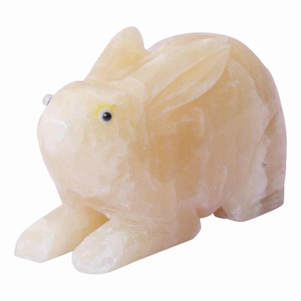 Indomarmer Kaninchen aus Onyx