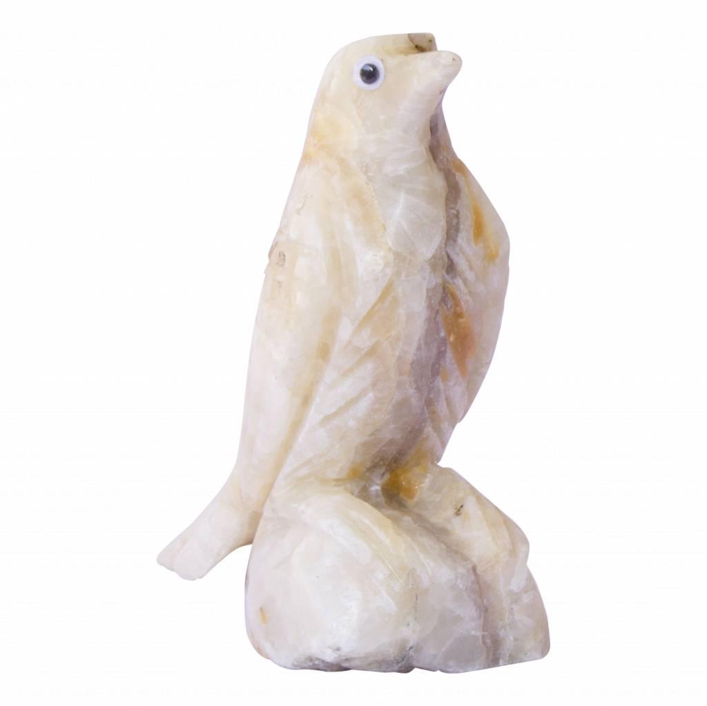 Indomarmer Vögelchen aus Onyx