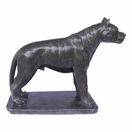 Indomarmer Black Pitbull Marble