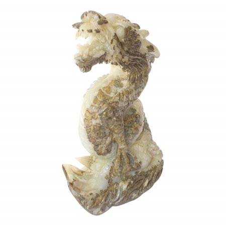 Indomarmer Chinesischer Drache aus Onyx