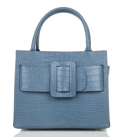 Julia's Bags Damestas Marquerite licht blauw