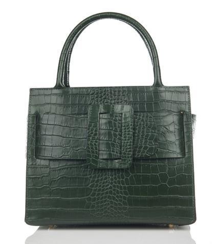 Julia's Bags Damestas Marquerite donker groen