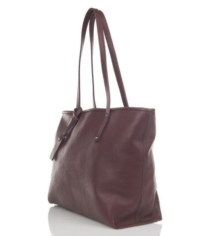 Julia's Bags Schoudertas, leren tas, handtas, damestas Marya Bordeaux