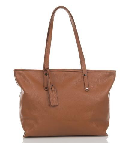 Julia's Bags Schoudertas, leren tas, handtas, damestas Marya Bruin