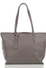 Julia's Bags Schoudertas, leren tas, handtas, damestas Marya Grijs