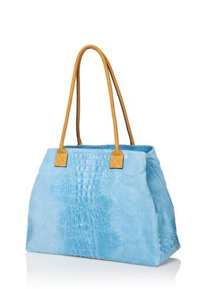 Handtas Fleur licht Blauw