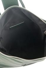 Julia's Bags Italiaanse leren rugtas, leren rugzak Resa, Zwart
