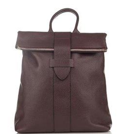 Julia's Bags Leren rugtas, leren rugzak Resa-Bordeaux