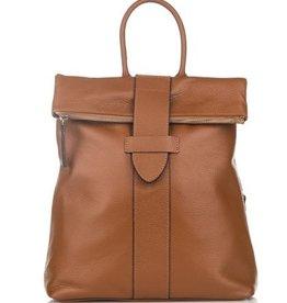 Julia's Bags Leren rugtas, leren rugzak Resa-Cognac