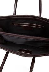 Handtas Bente (donker bruin)