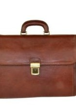 09aa1335f4c Italiaanse leren aktetas Matthijs (bruin) - Julia's Bags