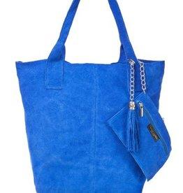 Schoudertas Feline (blauw)