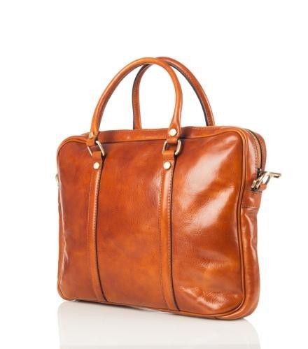 laptop tas Tijmen (licht bruin)