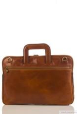 laptop tas Anton (cognac)