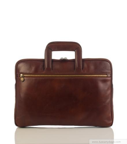 Laptop tas Anton (licht bruin)