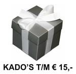 KADO SUGGESTIES T/M 15 EURO