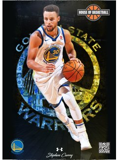 HoB Basketbal Poster Stephen Curry