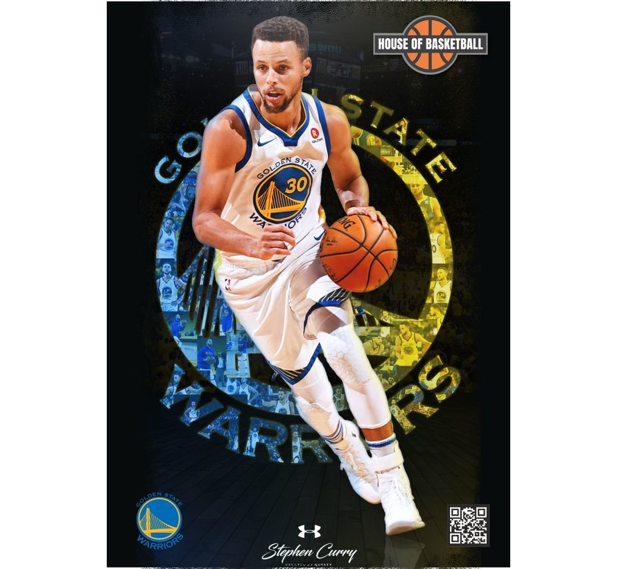 Basketbal Poster Stephen Curry