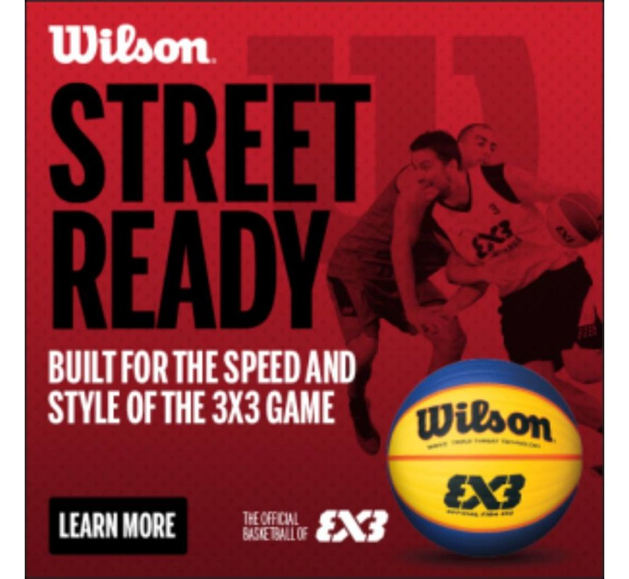 Wilson FIBA 3X3 Official Game basketbal