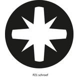 Schroevendraaier Pozidriv 1